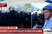 Water Cannons, Smoke Bombs Used as G20...