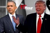 On the global stage Trump blasts Obama &...