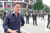 Protests erupt in Hamburg for second day