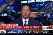 222K jobs added in June, unemployment at 4.4