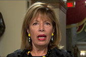 Rep. Speier: We have the beginning of a...