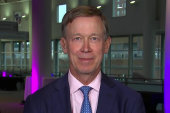 Hickenlooper: Voters are worried about...