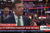NY subpoenas bank records on Manafort loans