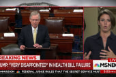 Senate GOP Obamacare repeal collapses....
