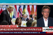 Trump, Putin had second encounter at G20