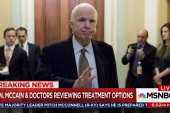 Sen McCain, war hero, fighting brain tumor