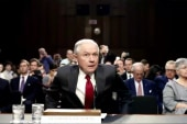 Sessions' act of character seen as...