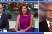 Velshi and Ruhle Spar With Trump Supporter...