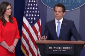 Scaramucci, from day one, out in full force