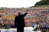Trump talks politics with Boy Scouts amid...