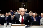 Republicans split on Sessions-Trump feud