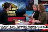 Trump attacks serving transgender US troops