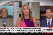 Russian activist compares Trump's tactics...