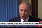 Trump silent as Putin expels diplomatic staff