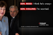 Sen. Reed on hot mic: I think Trump is crazy