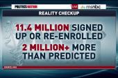 'Obamacare' enrolls 11.4 million