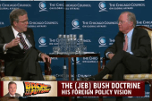 Jeb grapples with how to be different
