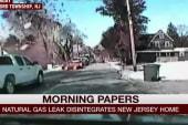Dash cam footage captures home explosion