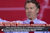 Rand Paul: 'I am running for president'