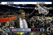 UConn claims third straight title