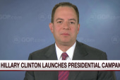 RNC chair: Americans don't trust Hillary