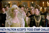 Paltrow accepts 'Food Stamp Challenge'