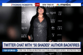 Twitter Q&A with '50 Shades' author backfires