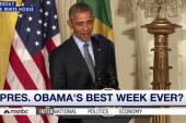 Inside Obama's best week ever
