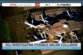 DOJ investigating possible airline collusion