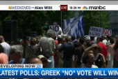 Greece votes in historic ballot referendum