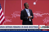 Ben Carson defends remarks on mass shooting