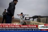 US to end Syrian rebel training program
