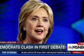 Democrats clash in first presidential debate