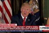 Trump bellicosity is frightening new variable