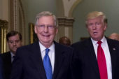 Trump goes after McConnell