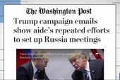 WaPo: Trump Camp Emails Show Efforts to...