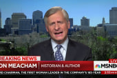 Meacham: 'Trump has moved the goal post of...