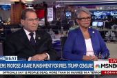 Dems propose a rare punishment for Trump:...