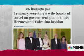 Mnuchin's wife boasts about wealth
