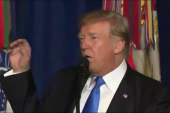 Trump delivers 'somber speech' on Afghanistan