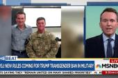 Fmr. Army Sec: Trump transgender ban...
