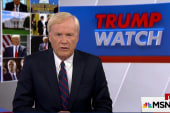 Matthews: Trump tears away the standards...