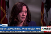 Sen. Harris: Pres. Trump testifying about...