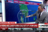 Shifting storm track raises risk in Florida