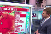 Irma Regains Strength as Category 4,...