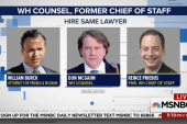 Top White House aides get lawyers for...