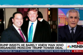 Trump exposed for lie about business partner