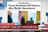 NYT: Trump tried to oust 'idiot' Sessions...