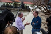 After Irma, Bloomberg Helps With Recovery...
