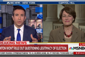 Klobuchar: Trump Jr. will testify publicly...